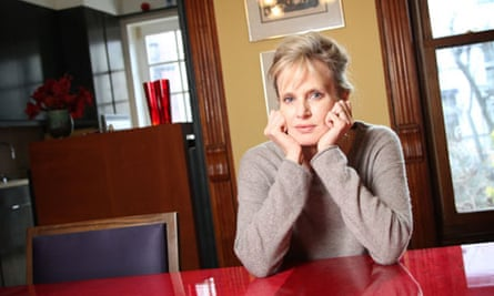 Author Siri Hustvedt January 13, 2010 in her home, Brooklyn,  New York, USA.