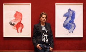 Artist Tracey Emin new exhibition in collaboration with the late Louise Bourgeois