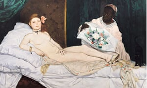 <Olympia> by Edouard Manet