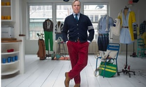Tommy Hilfiger in his New York office.