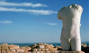Torso Sculpture at Carthage, Tunisia