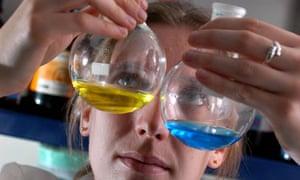Exeter university chemistry student