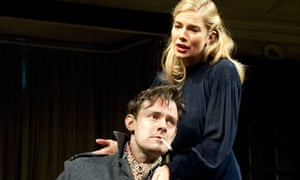 Harry Hadden-Paton and Sienna Miller in the revival of Flare Path by Terence Rattigan.
