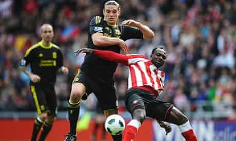 Ancy Carroll, John Mensah, Sunderland, Liverpool, Premier League