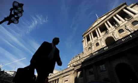 walking past Bank of England