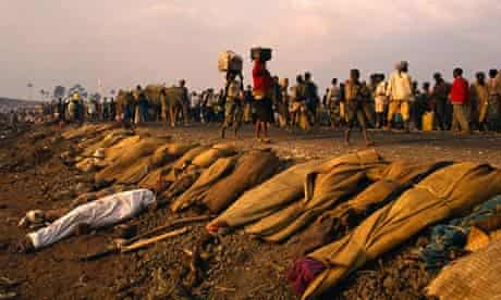 Rwandan Refugees in Za re genocide