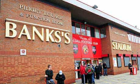 Soccer - npower Football League One - Walsall v Exeter City - Banks's Stadium
