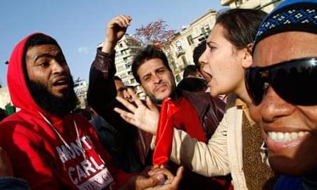 egypt international women's day tahrir square
