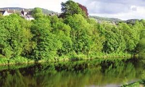 hay-on-wye river
