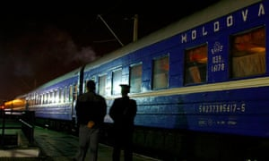 Moldova Romania trafficking border check