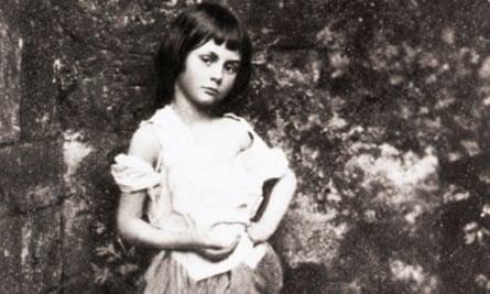 Portrait Of Alice Liddel By Lewis Carrol