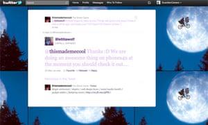 Simon Caine - Twitter tips