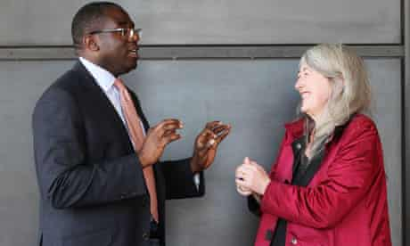 David Lammy and Mary Beard discuss Oxbridge admissions policy.