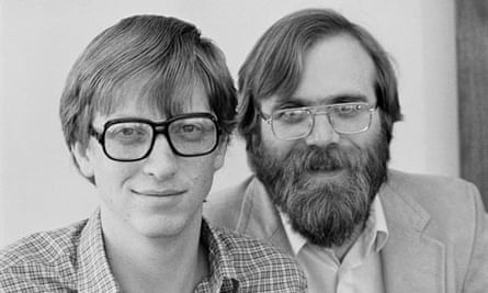 Microsoft Founders Bill Gates and Paul Allen