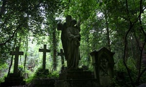 notes and queries fear of death Highgate Cemetery