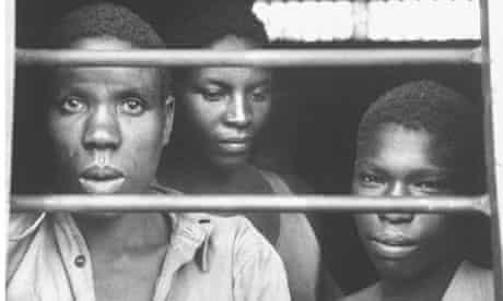 Threee jailed Mau Mau people behind bars