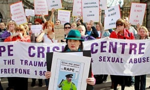 Gardai rape threat allegations
