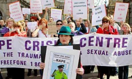 Gardai rape threat allegations