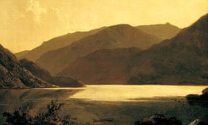 painting of Ullswater by Joseph Wright of derby