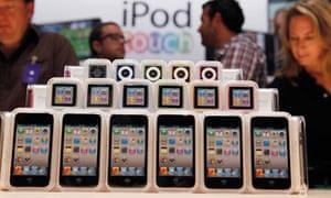 2010 iPod Touch, iPod Nano, iPod Shuffle