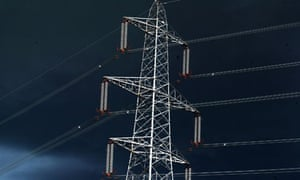 Electricy pylons