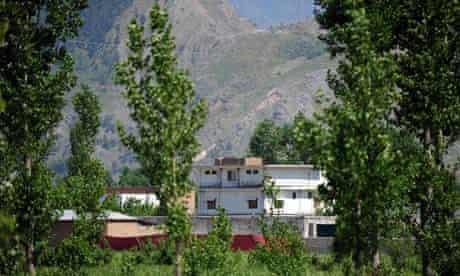 Osama bin Laden's hideout in Pakistan