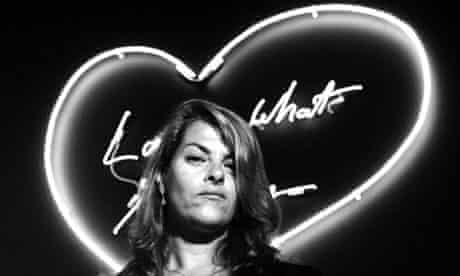 """UK-  """"Tracey Emin Exhibition""""  in London"""