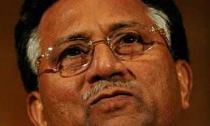 Former Pakistani president General Pervez Musharraf