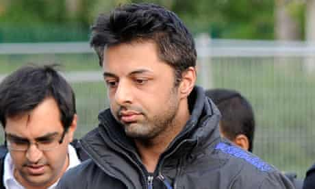 Shrien Dewani arrives for his extradition hearing at Belmarsh Magistrates' Court in London