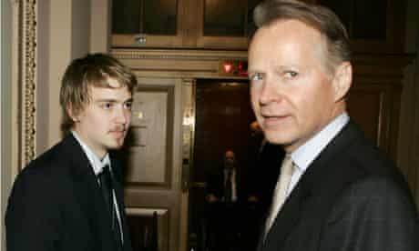 Euan Blair with Congressman Dreier