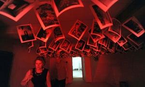 Mark Nelson installion in British Pavilion