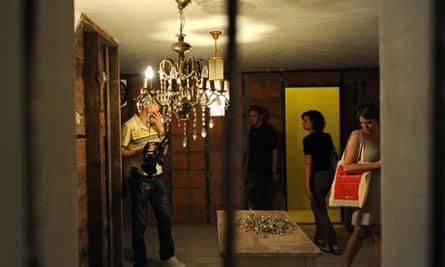 mike nelson's installation, british pavilion, venice biennale