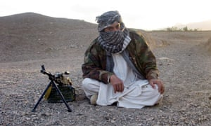 Taliban fighter, west of Kabul