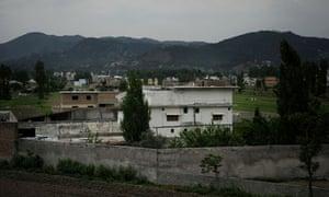 BIn Laden compound