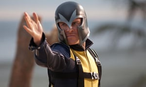 Michael Fassbender as Magneto in X-Men: First Class.