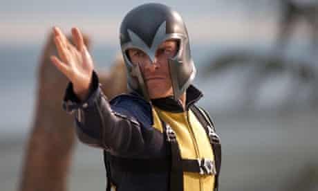 Michael Fassbender as Magneto in X-Men: First Class.