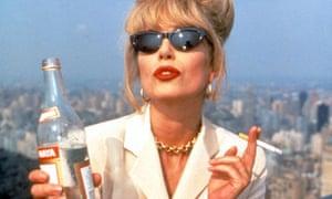 joanna lumley absolutely fabulous my tv hero