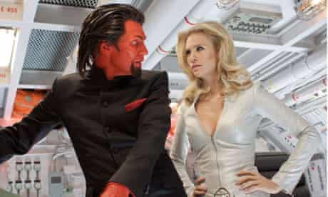 Jason Flemyng and January Jones in X-Men: First Class.
