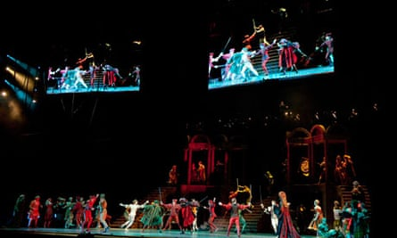 Romeo and Juliet at the O2 Arena, London