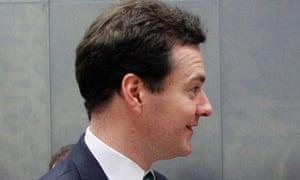 George Osborne sideways head