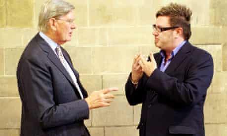 Conservative MP Bill Cash and fathers' rights campaigner Matt O'Connor