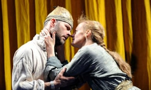 Aeneas and Dido at the Cottesloe, 2009