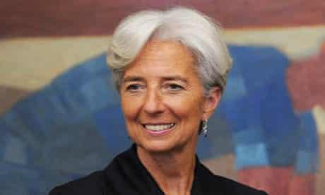 Christine Lagarde in Brazil
