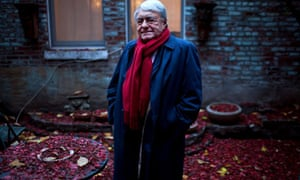 Claude Lanzmann, a French writer and documentary filmmaker, in New York.