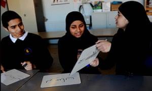 Urdu language class, Plaistow