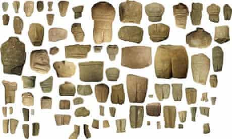 Mystery figurines Keros island