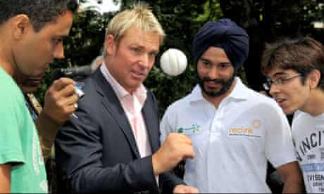 shane warne indian students