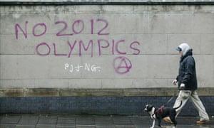 anti-Olympic graffiti