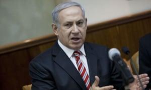 Benjamin Netanyahu Attends Weekly Cabinet Meeting