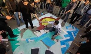egypt political street art
